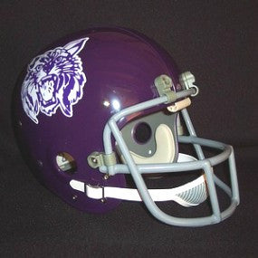 Kansas State Wildcats 1972-73 'Steve Grogan' Authentic Vintage Full Size Helmet