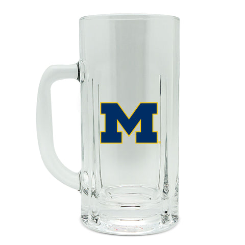 Michigan Wolverines 20oz High Glass Kraft Mug