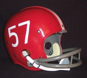 Nebraska Cornhuskers  1969 '100 Year Anniversary of College Football Logo' Authentic Vintage Full Size Helmet