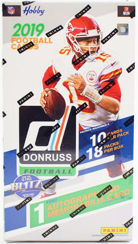 2019 Donruss Football Hobby Box