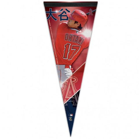 Los Angeles Angels Shohei Ohtani Premium Player Pennant 12x30""