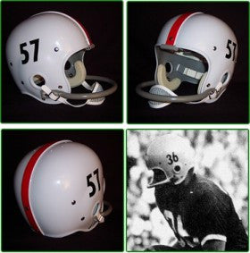 Ohio State Buckeyes 1956-59 '1957 National Champs' Authentic Vintage Full Size Helmet