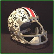 Ohio State Buckeyes 1968-Current '1974 & 1975 Heisman - Archie Griffin' Authentic Vintage Full Size Helmet