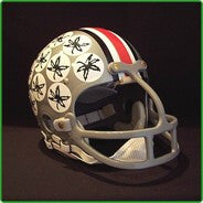 "Ohio State Buckeyes 1974-75 ""Archie Griffin"" Authentic Vintage Full Size Helmet"