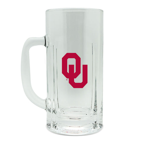 Oklahoma Sooners 20oz High Glass Kraft Mug
