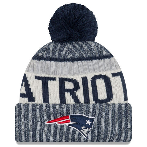 New England Patriots 2017 Official Sideline Beanie