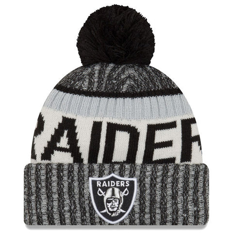 Oakland Raiders 2017 Official Sideline Beanie