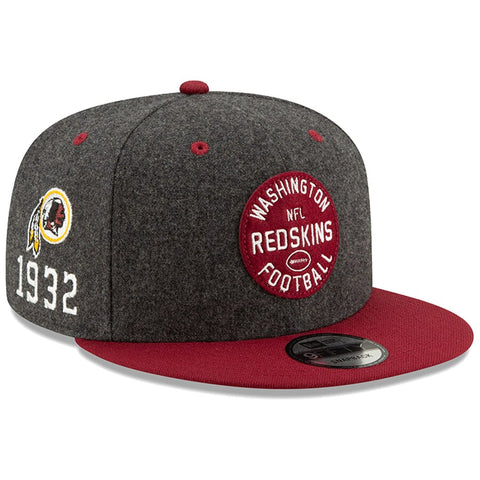 Washington Redskins New Era 2019 Sideline Official Home 9FIFTY Snapback Cap