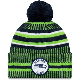 Seattle Seahawks 2019 Official Home Sideline Beanie