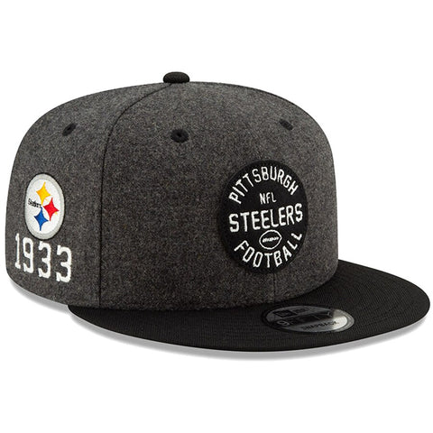 Pittsburgh Steelers New Era 2019 Sideline Official Home 9FIFTY Snapback Cap