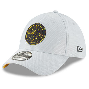 Pittsburgh Steelers 2018 Training Camp Official 39THIRTY Flex Cap ... 774fc797c81