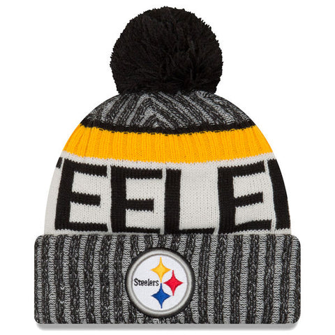 Pittsburgh Steelers 2017 Official Sideline Beanie