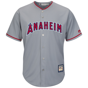 Anaheim Angels Cooperstown Cool Base Home Jersey
