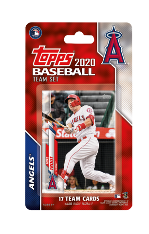 Los Angeles Angels 2020 Topps Team Set