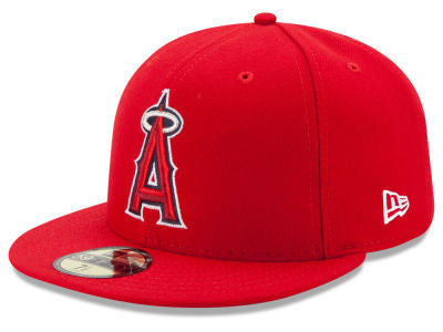 Los Angeles Angels Authentic 59Fifty Game Cap
