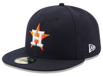 Houston Astros Authentic 59Fifty Navy Game Cap