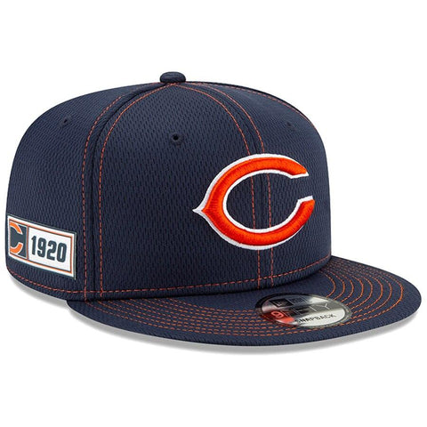 Chicago Bears New Era 2019 Sideline Official Road 9FIFTY Snapback Cap