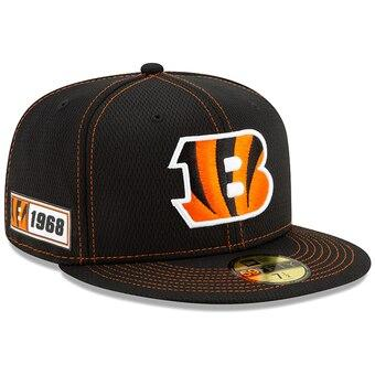 Cincinnati Bengals New Era 2019 Sideline Official Road 9FIFTY Snapback Cap