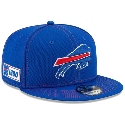 Buffalo Bills New Era 2019 Sideline Official Road 9FIFTY Snapback Cap