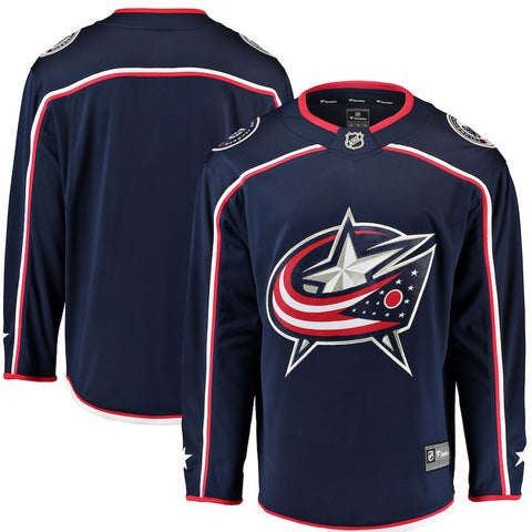 Columbus Blue Jackets Home Breakaway Jersey