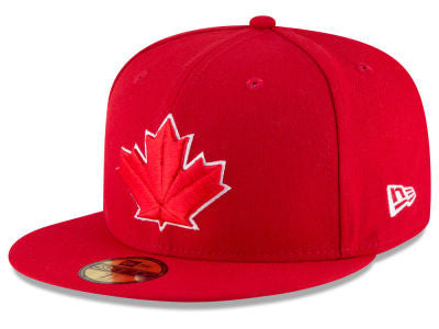 Toronto Blue Jays Authentic 59Fifty Scarlet Game Cap