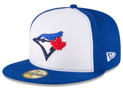 Toronto Blue Jays Authentic 59Fifty White/Royal Game Cap