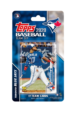 Toronto Blue Jays 2020 Team Set