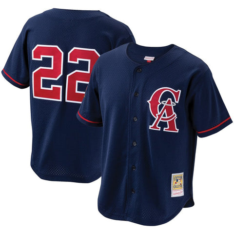California Angels Bo Jackson #22 Authentic Practice Jersey