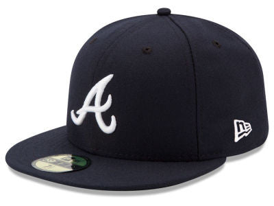 Atlanta Braves Authentic 59Fifty Road Game Cap