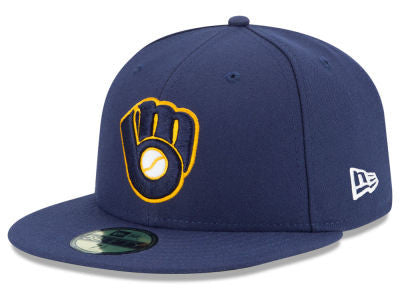 Milwaukee Brewers Authentic 59Fifty Alternate Game Cap