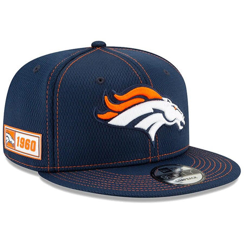 Denver Broncos New Era 2019 Sideline Official Road 9FIFTY Snapback Cap