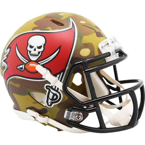 Tampa Bay Buccaneers 2020 Camo Speed Mini Helmet