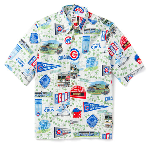 Chicago Cubs 2019 Reyn Spooner Hawaiian Shirt