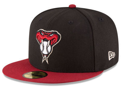 Arizona Diamondbacks Authentic 59Fifty Alternate Black/Crimson