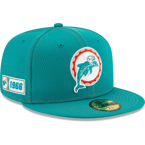 Miami Dolphins New Era 2019 Sideline Official Home 9FIFTY Snapback Cap
