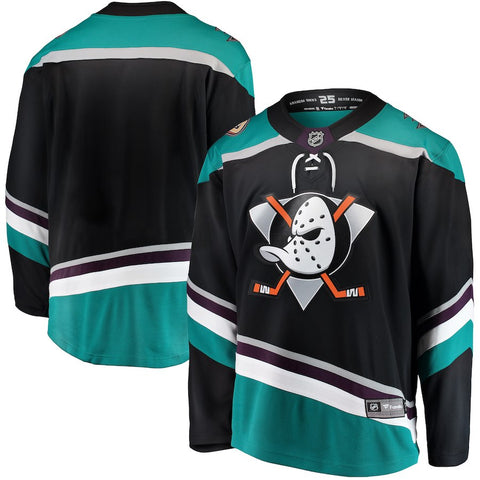 Anaheim Ducks Black Alternate Breakaway Jersey
