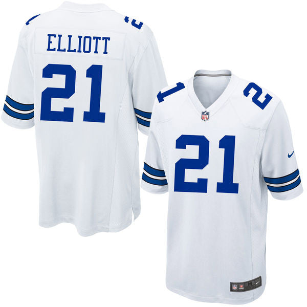 the latest c8b69 73f77 Dallas Cowboys Ezekiel Elliott #21 Nike Home Game Jersey