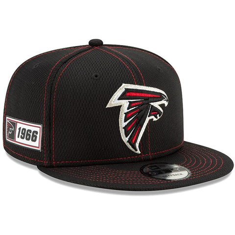 Atlanta Falcons New Era 2019 Sideline Official Road 9FIFTY Snapback Cap