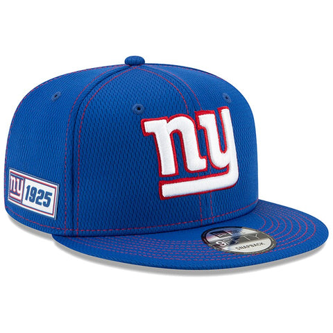 New York Giants New Era 2019 Sideline Official Home 9FIFTY Snapback Cap