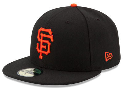San Francisco Giants Authentic 59Fifty Black Game Cap