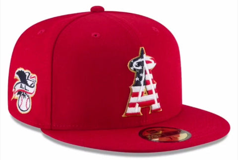 Los Angeles Angels 2018 Official Stars and Stripes Cap