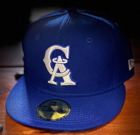 California Angels 1993-96 Royal Blue Cooperstown 59FIFTY Cap