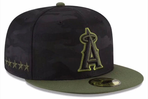 Los Angeles Angels 2018 New Era 59FIFTY Memorial Day Cap