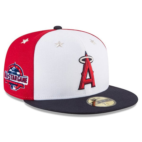 Los Angeles Angels 2018 New Era 59FIFTY On-Field All-Star Game Cap