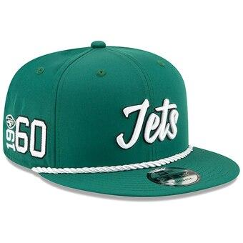 New York Jets New Era 2019 Sideline Official Road 9FIFTY Snapback Cap