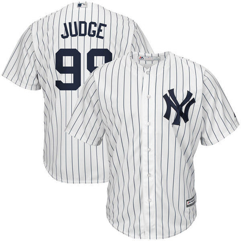 New York Yankees Aaron Judge #99 Majestic Athletic Cool Base Home Jersey