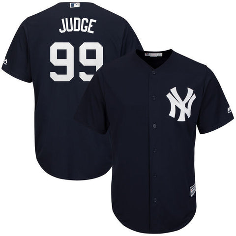 New York Yankees Aaron Judge #99 Majestic Athletic Cool Base Navy Jersey