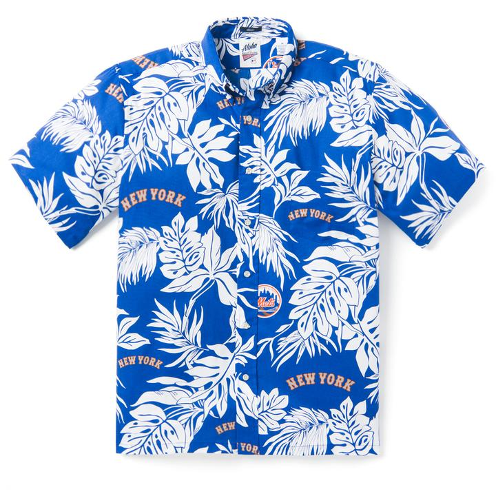 New York Mets 2018 Reyn Spooner Hawaiian Shirt – Sports Addict 779e43011