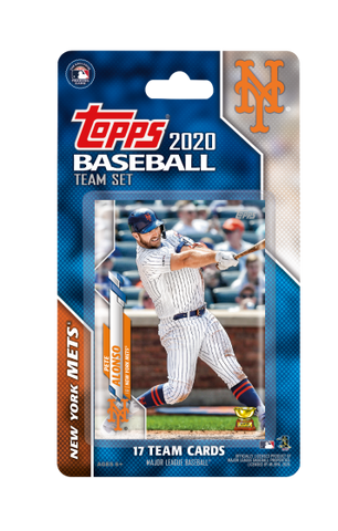 New York Mets 2020 Topps Team Set