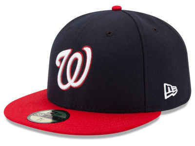 Washington Nationals Authentic 59Fifty Navy Game Cap